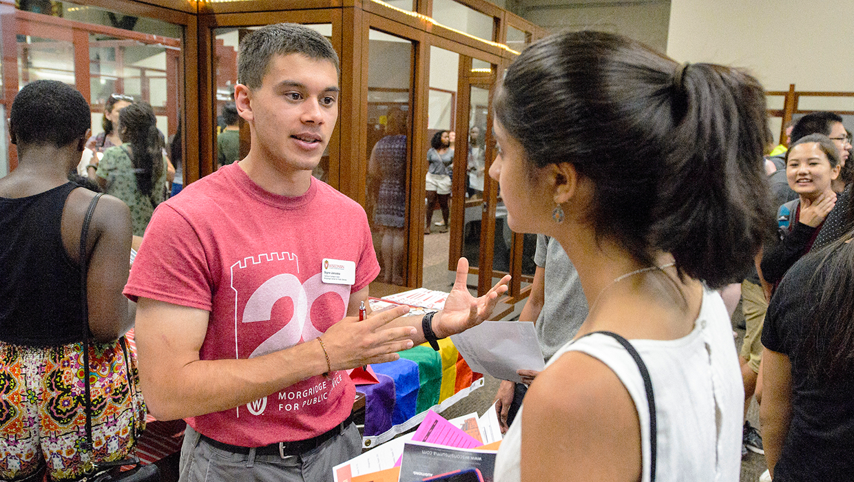 Morgridge Center intern answers questions about public service