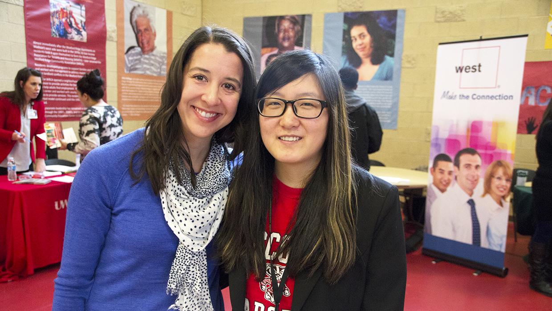Wisconsin Idea Fellowships Lussier Community Center job fair