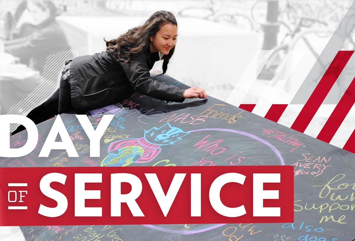 The third-annual All-Campus Day of Service will be held on April 24, 2018