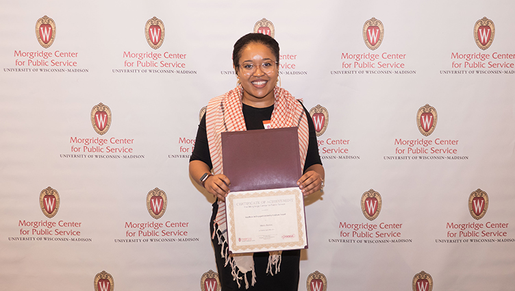 Excellence In Engaged Scholarship Award Morgridge Center
